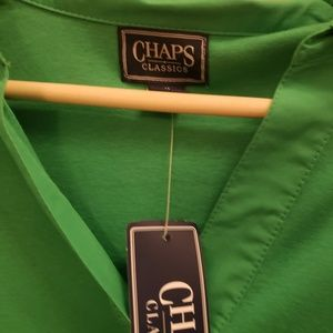 Chaps Tops - Chaps knit Henley, 3 quarter length sleeves